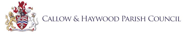 Callow and Haywood Parish Council